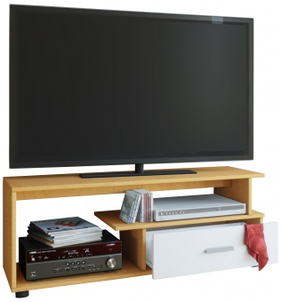 vcm group vcm tv lowboard rack konsole fernsehtisch m bel tv bank tisch holz schrank rimini. Black Bedroom Furniture Sets. Home Design Ideas