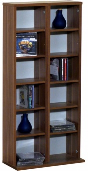 vcm gruppe vcm regal dvd cd rack m bel aufbewahrung holzregal standregal m bel anbauprogramm. Black Bedroom Furniture Sets. Home Design Ideas