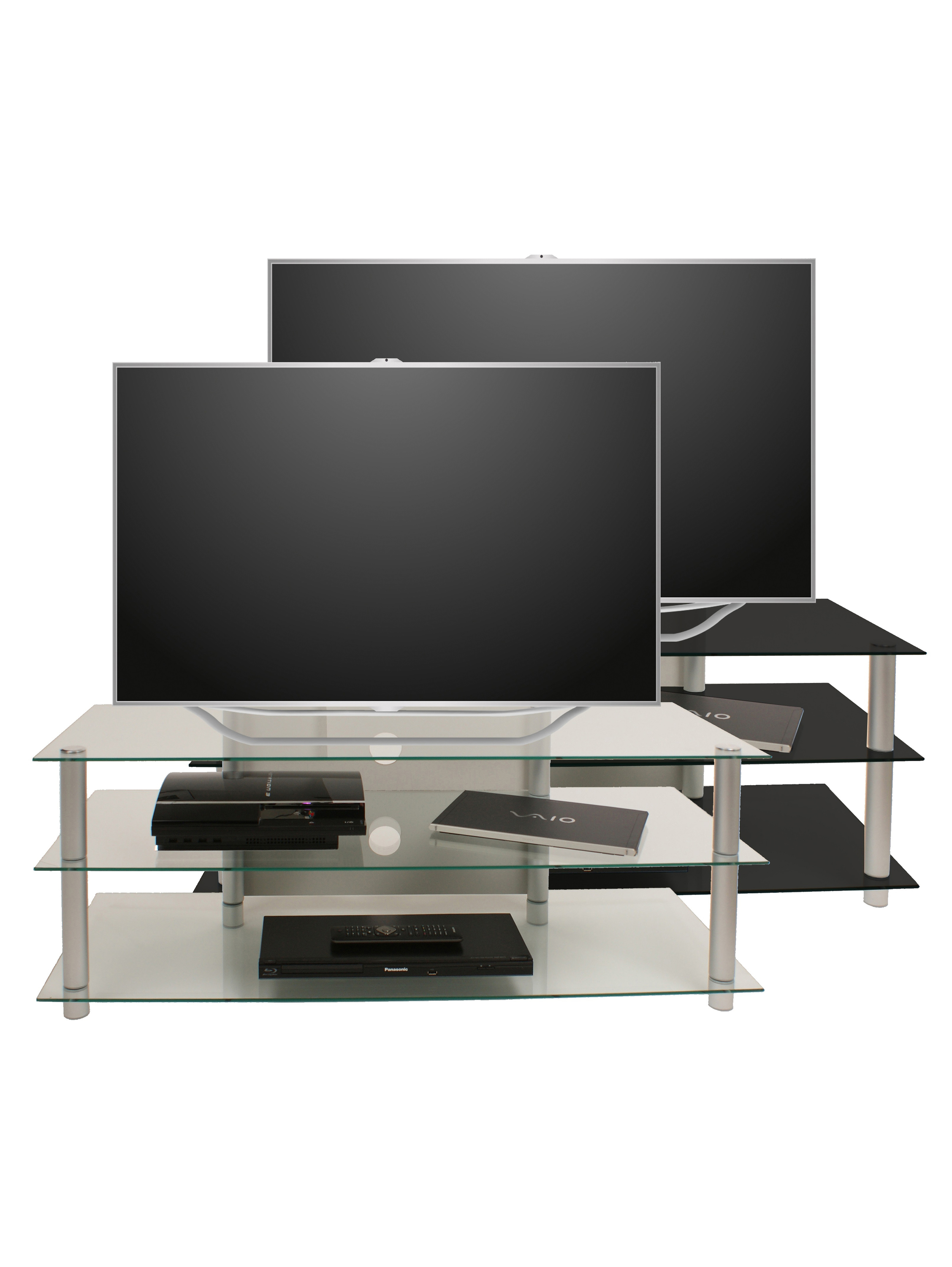 vcm gruppe vcm tv rack lowboard konsole fernsehtisch tv m bel bank glastisch tisch schrank. Black Bedroom Furniture Sets. Home Design Ideas