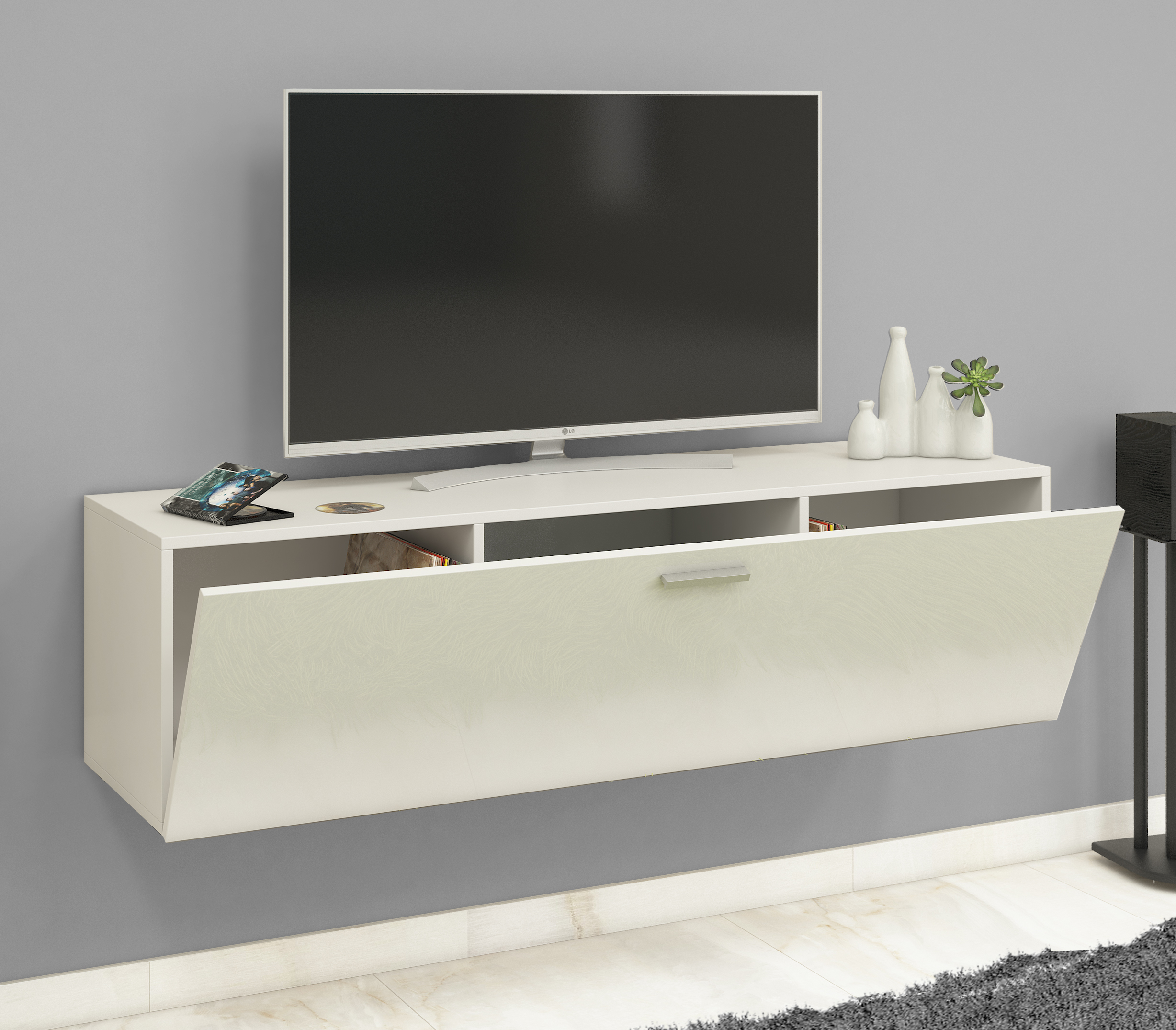 vcm group vcm tv wand board fernsehtisch lowboard. Black Bedroom Furniture Sets. Home Design Ideas